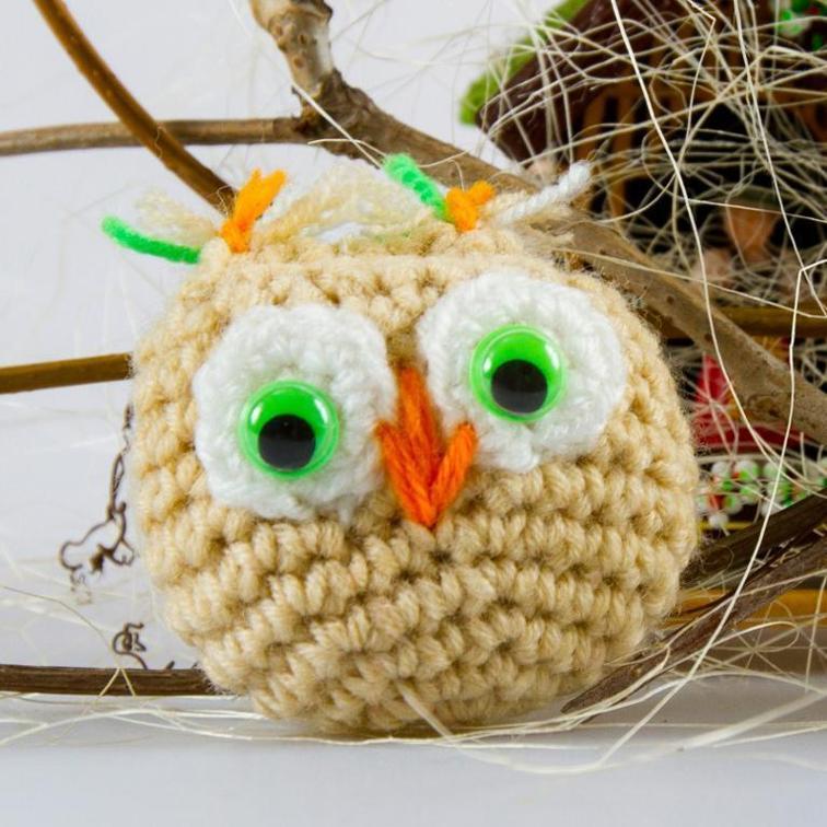 Crochet Owl Amigurumi Free Pattern
