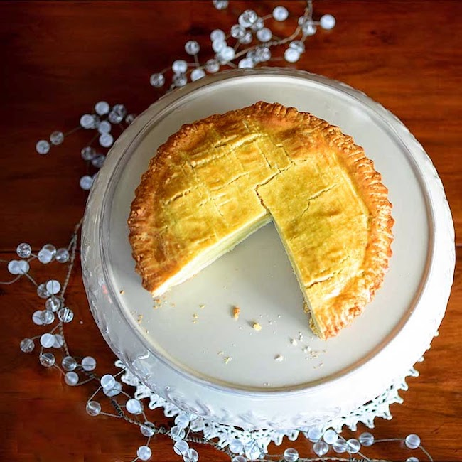 Gateau Basque by Savoring Time in the Kitchen