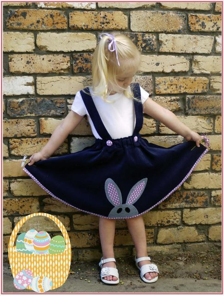 Easter Topsy Turvy Skirt Sewing Pattern