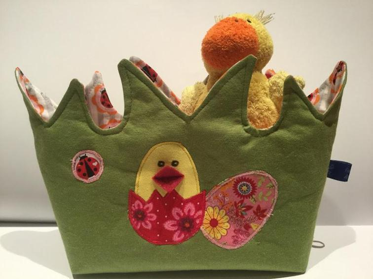 Easter Nest Sewing Pattern