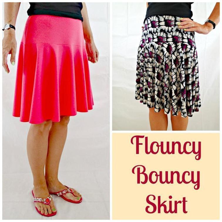 Flouncy Bouncy Skirt Sewing Pattern