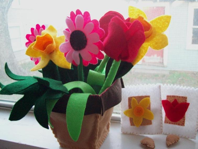 Flower Shop Pots Sewing Pattern