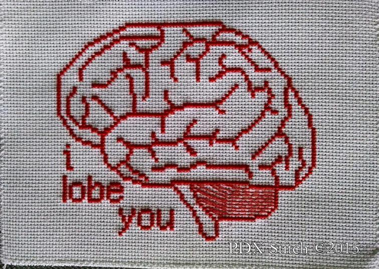 I Lobe You Cross Stitch