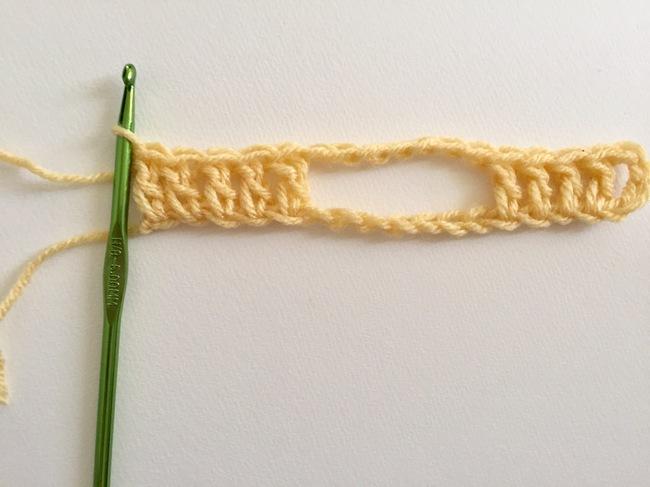 jacob ladder crochet stitch 1
