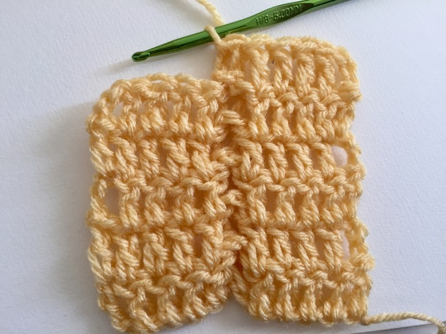 jacob ladder crochet stitch 7