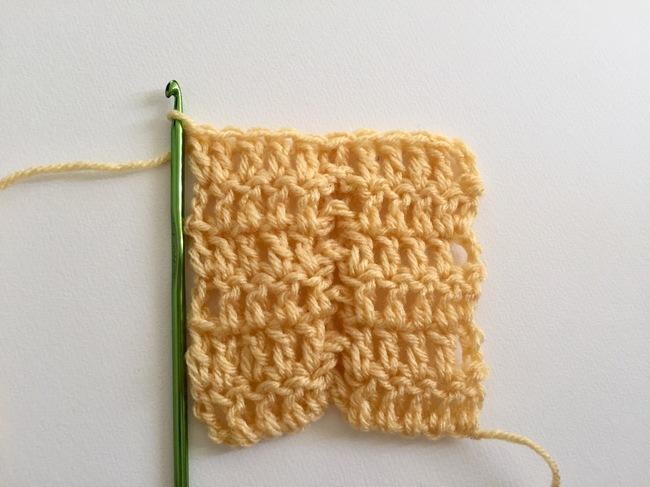 jacob ladder crochet stitch 8