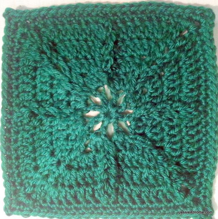 jacob's ladder crochet square pattern