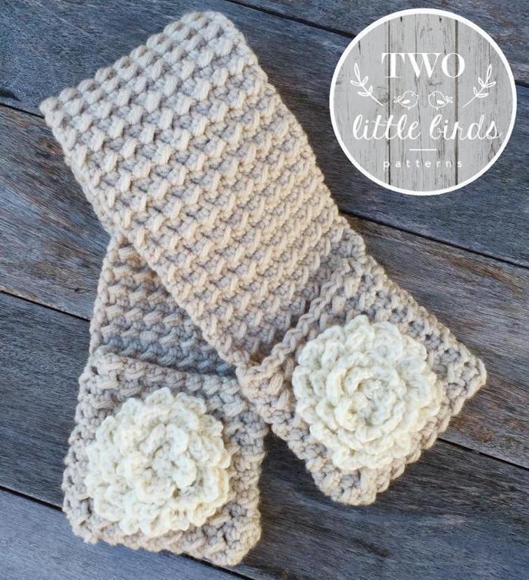 Kenzie Pocket Scarf Crochet Pattern