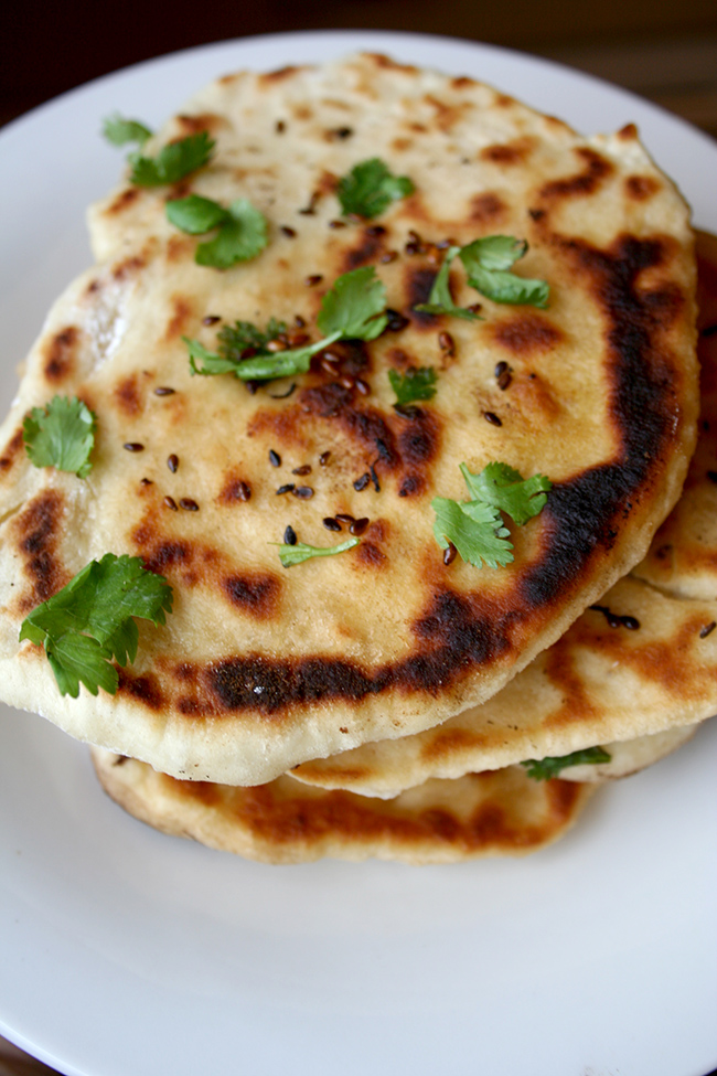 Homemade Kulcha Bread
