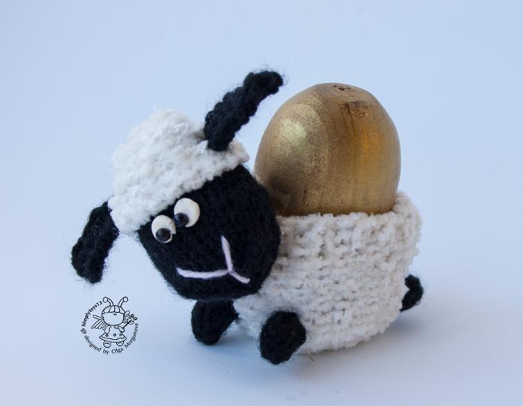 Lamb Egg Cozy Knitting Pattern