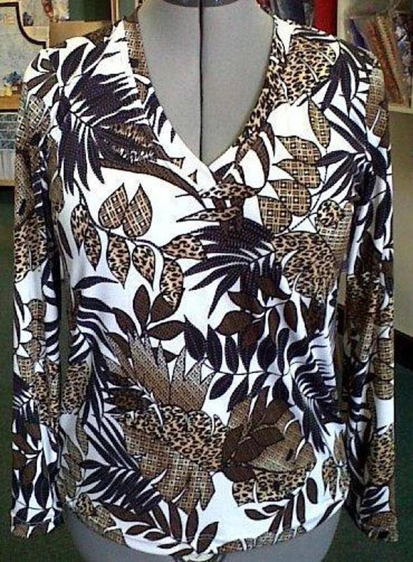 lycra fit tshirt sewing pattern