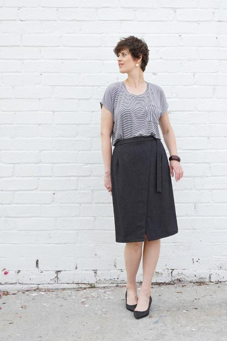 Nita Wrap Skirt Sewing Pattern