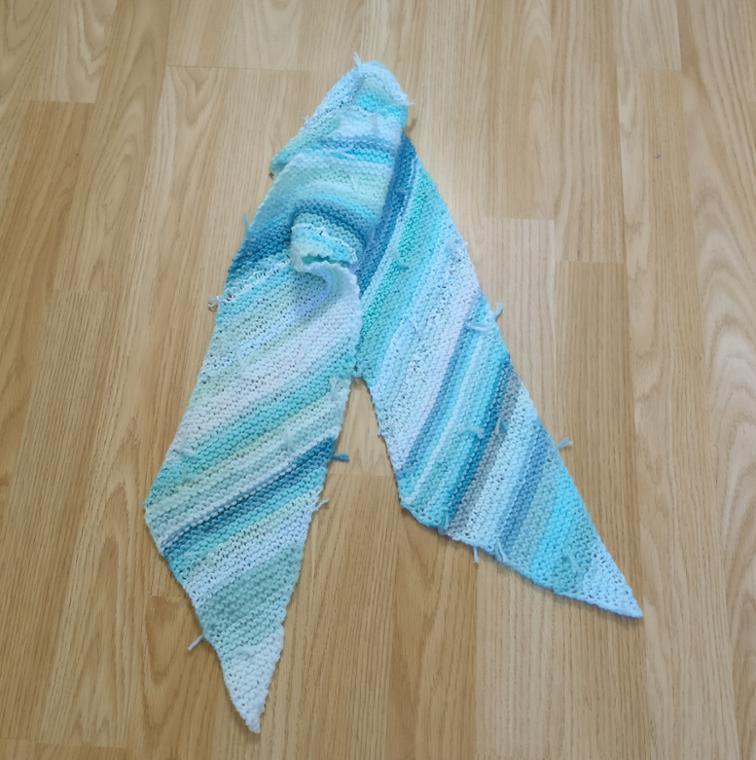 To Bias or Not to Bias Scarf Knitting Pattern