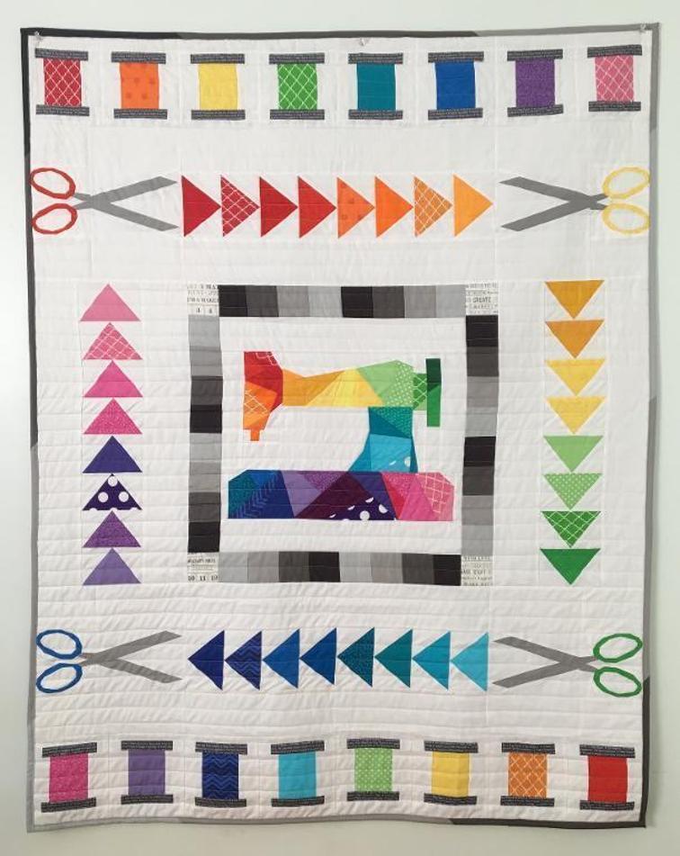 Sew the Rainbow Quilt