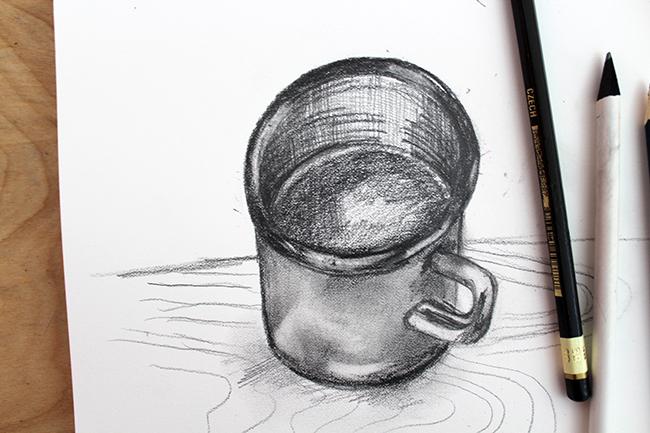 Finished Mug Sketch