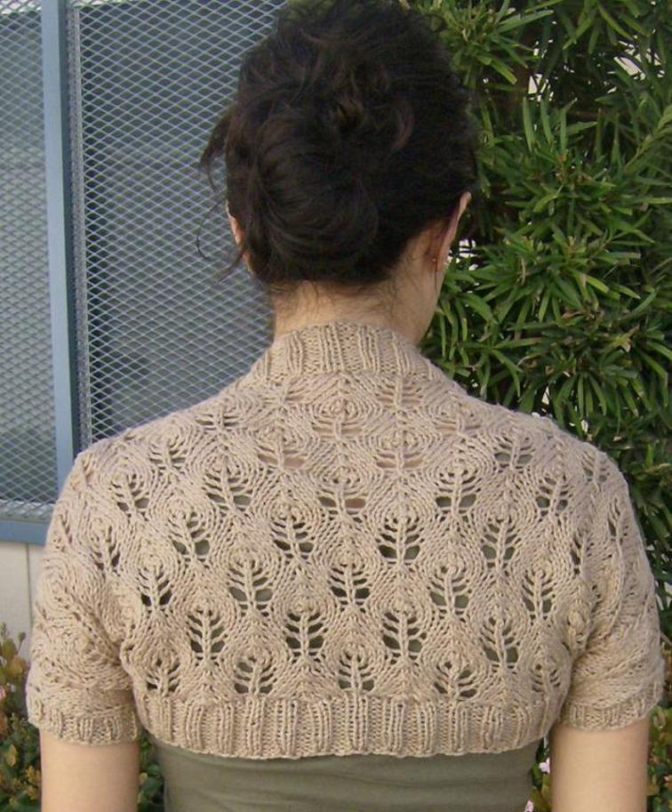Something Lacy Free Shrug Pattern