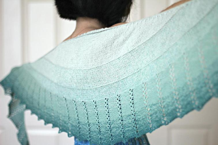 Spearmint Tea Shawl FREE Knitting Pattern