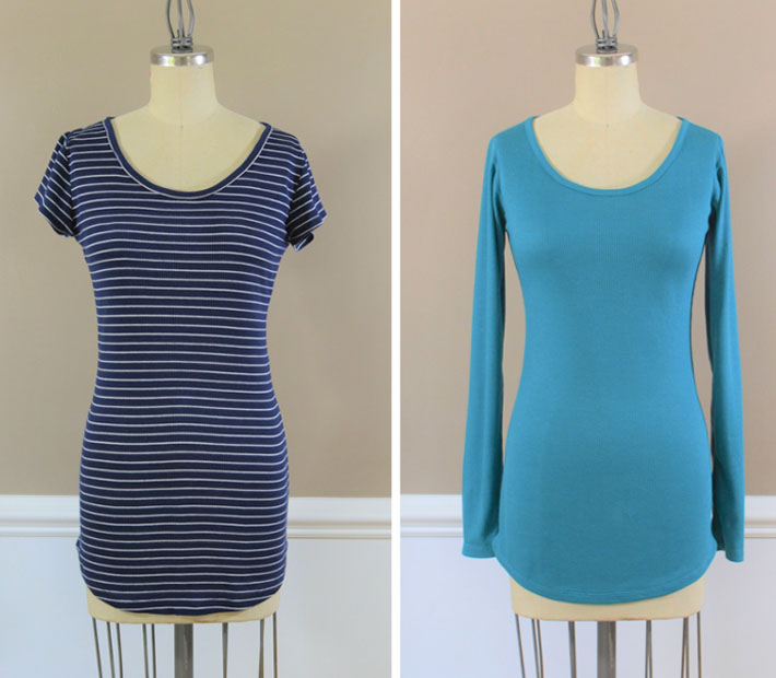the perfect tee in stripe or solid