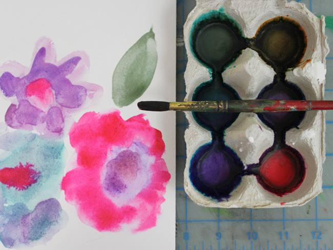 watercolor paint diy
