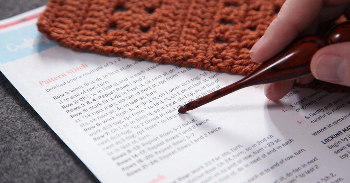 Reading a Crochet Pattern