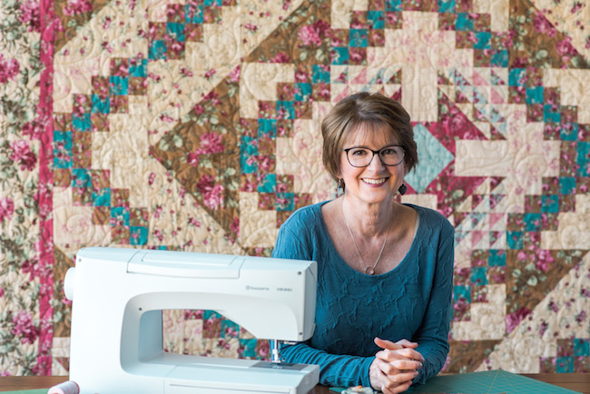 Kate Colleran & Flower Basket Quilt