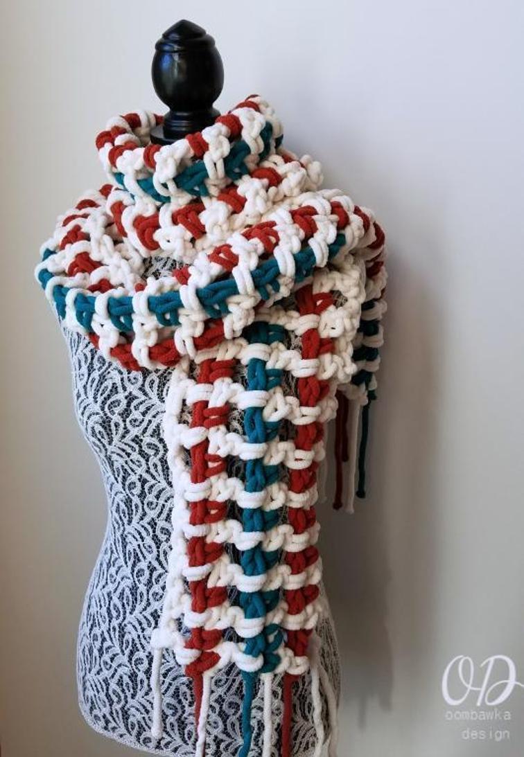 2  Hour Super Scarf Crochet Pattern