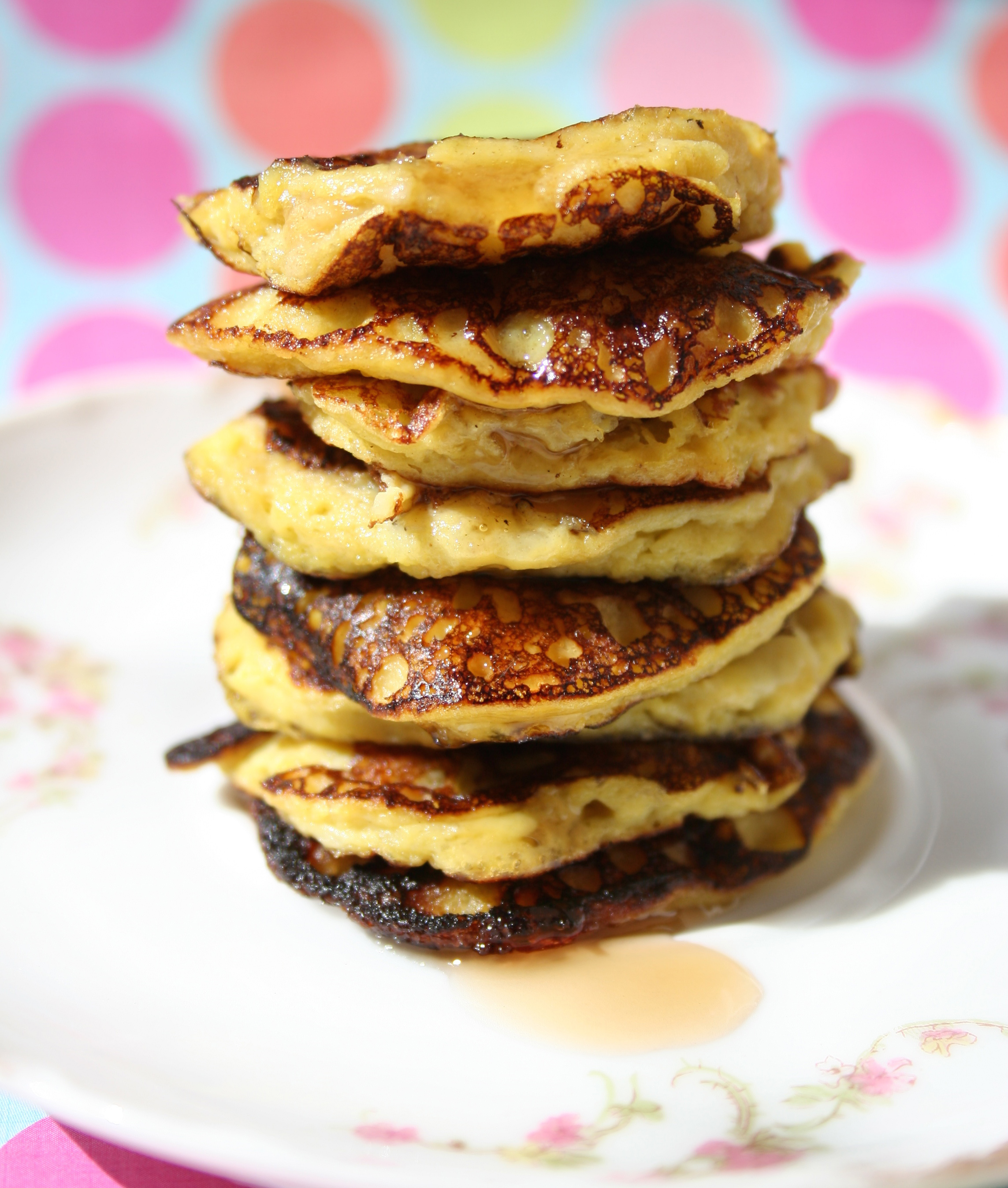 Two-ingredient banana pancakes recipe