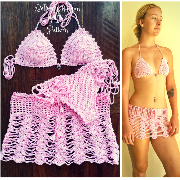 Aphrodite Crochet Swimsuit