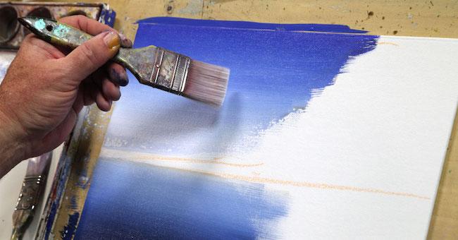 Tonal Background on Canvas
