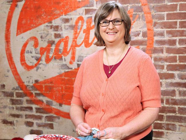 Knitting Instructor Donna Druchunas