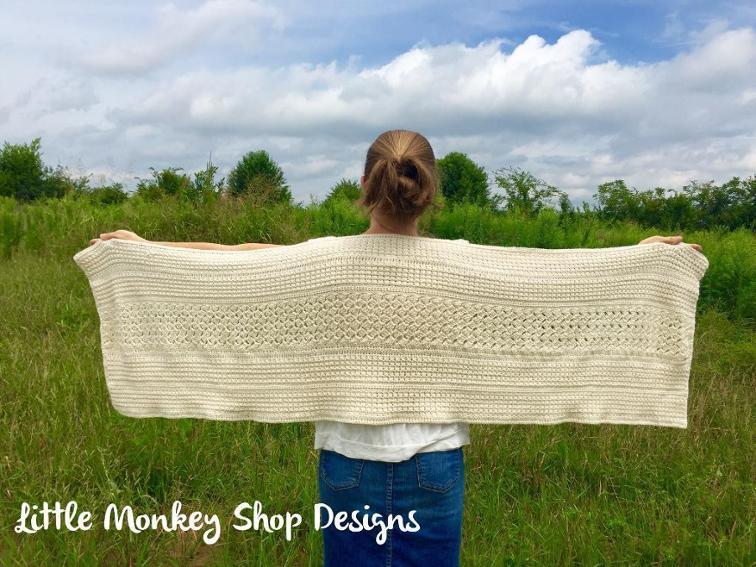 A Mother's Love Wrap crochet shawl