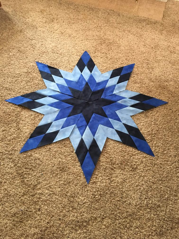 Blazing Star Blocks by Celia Riggs