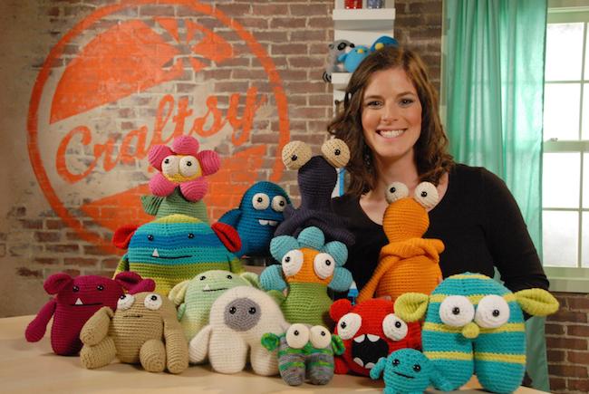 Stacey Trock & Her Amigurumi Monsters