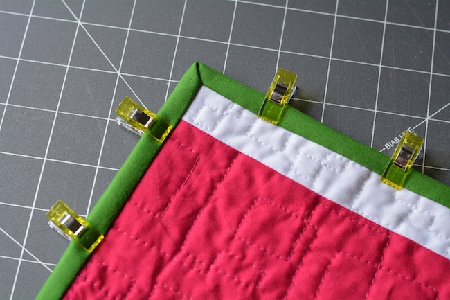 Perfect Quilt Binding