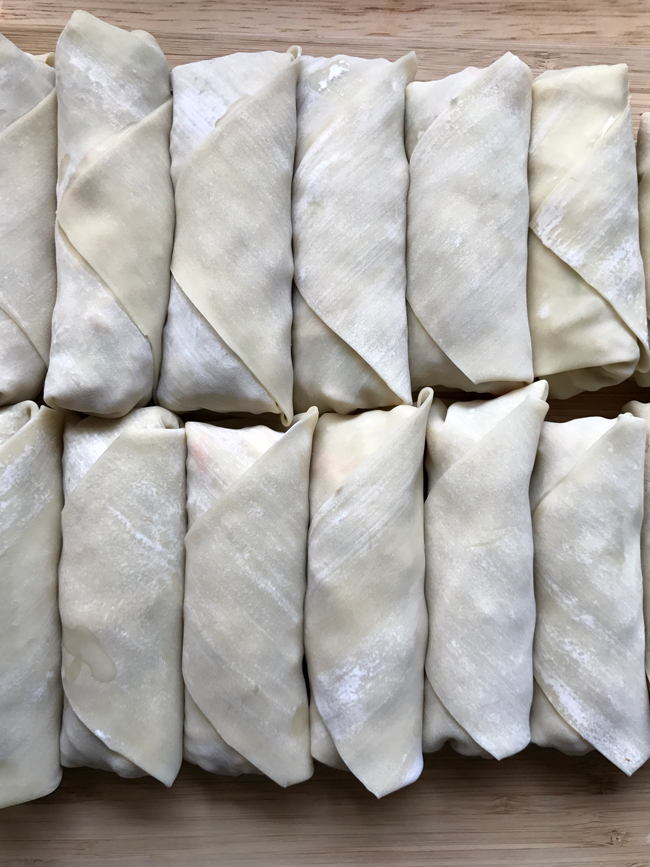 wrapped eggrolls