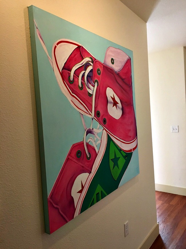Maggie Converse Painting