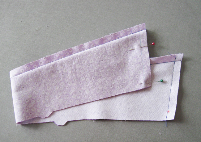 Step 4 sew remaining seams collar