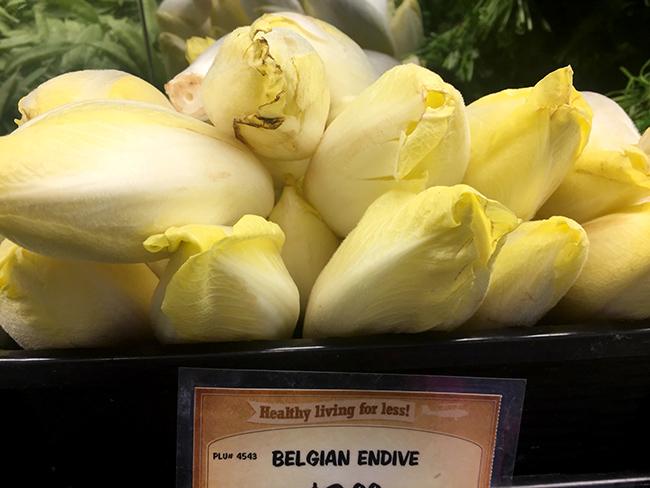 Belgian endives