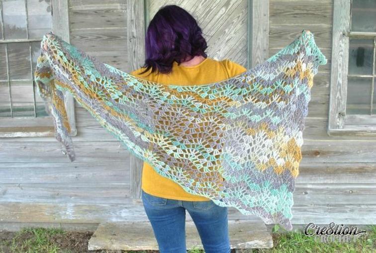 calypso shawl crochet pattern