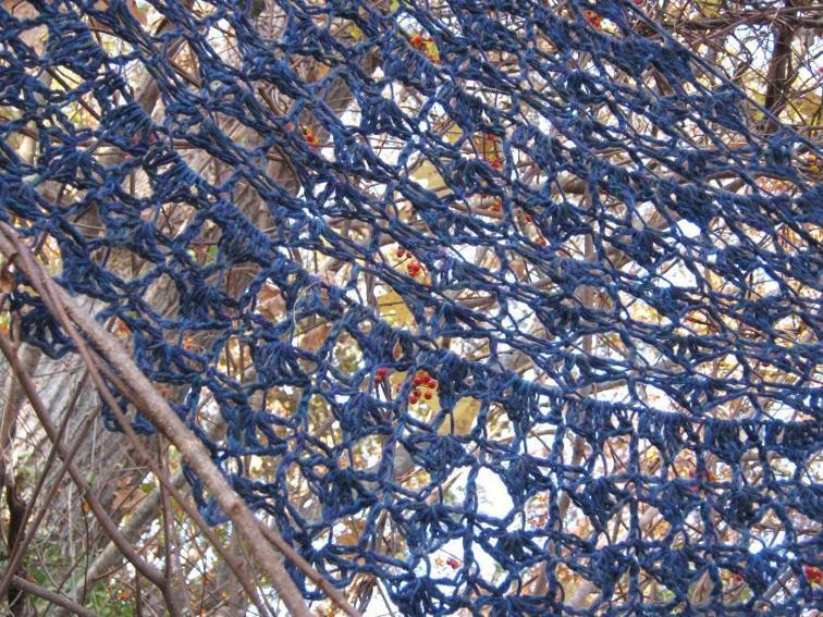 crochet half circle shawl