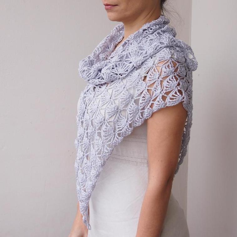 fairy lace triangle shawl