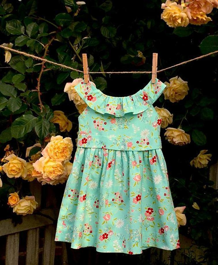 The Emma Rose Dress Sewing Pattern