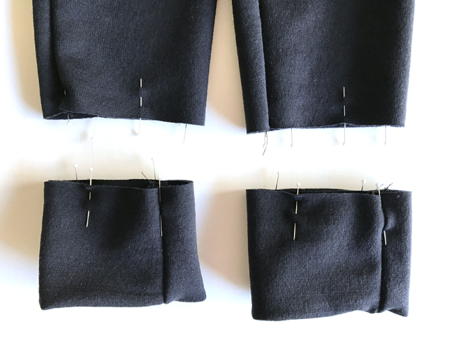 Attaching Hoodie Cuffs