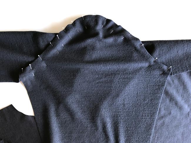 Sewing Hoodie Sleeves