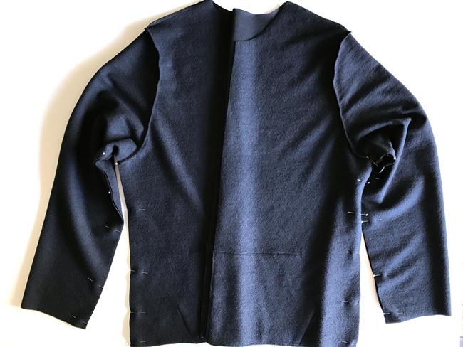 Assembled hoodie
