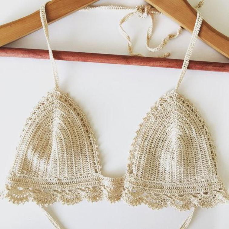 lace bikini set crochet pattern