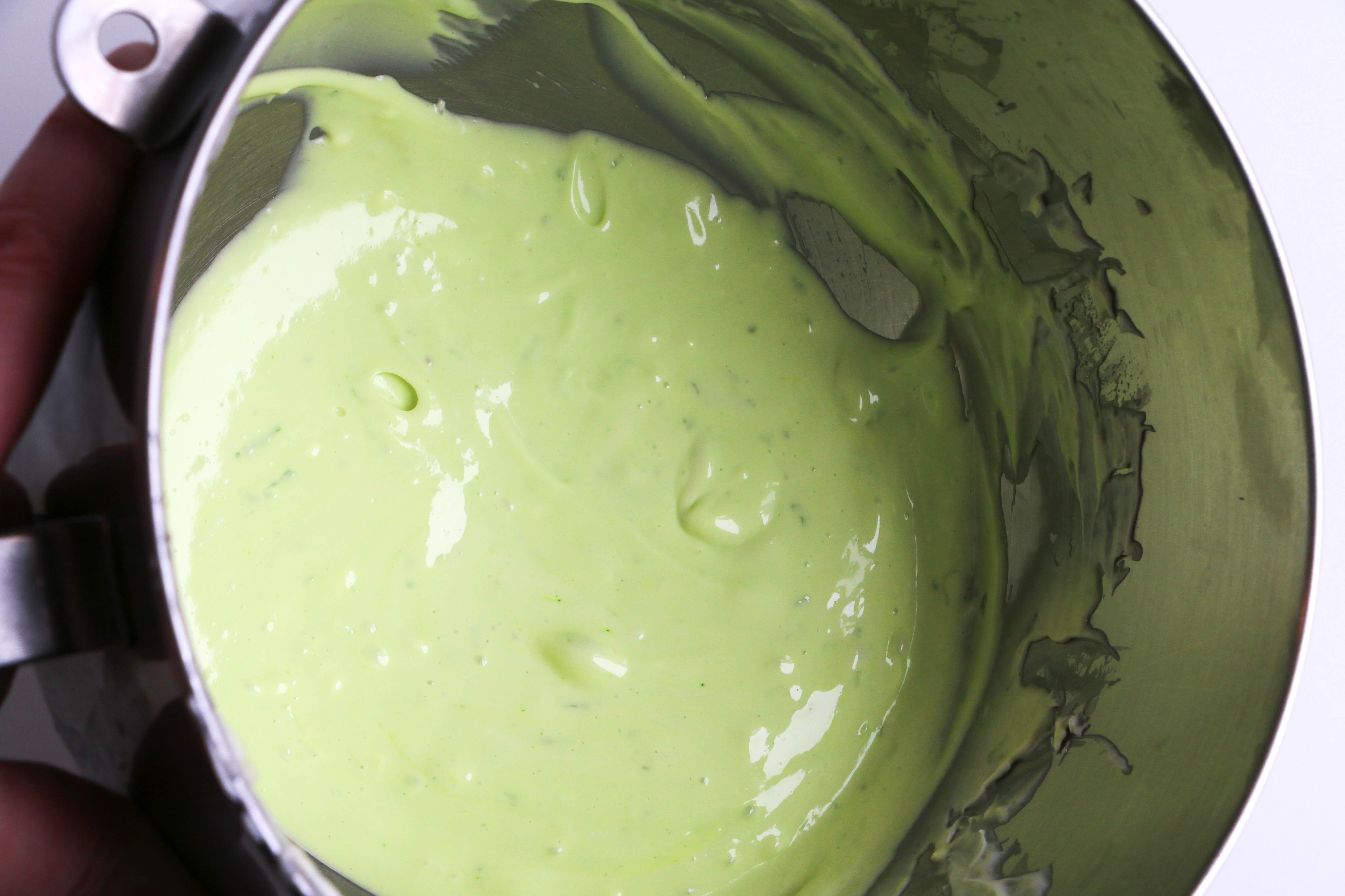 Lime Cheesecake Batter | Erin Gardner