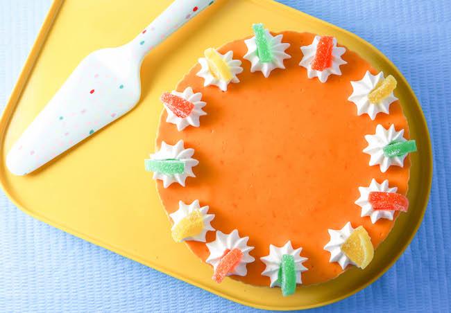 Layered Triple Citrus Cheesecake | Erin Gardner | Crafsty