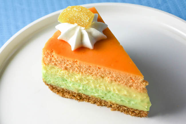 Slice of Layered Cheesecake | Erin Gardner