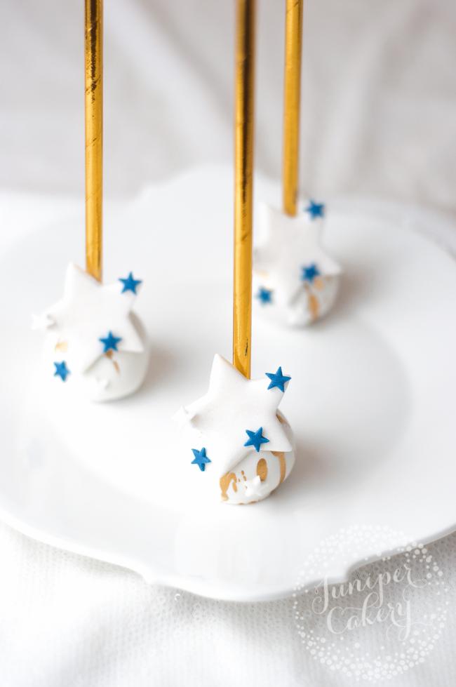 Memorial Day cake pops